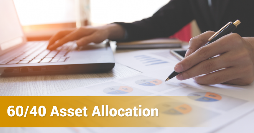 60-40 Asset Allocation Strategy Banner
