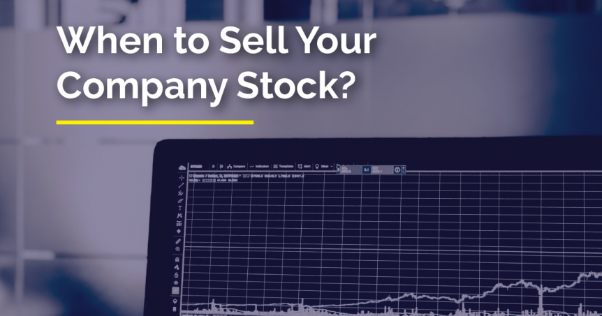 When to sell company stock options