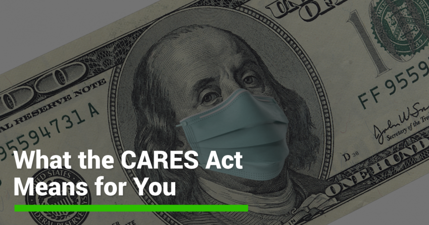 Cares Act Information Banner